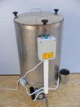 Viaszolvasztó és centrifuga