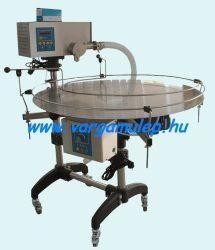 Multifunkcionális mézadagoló és csomagoló gép forgóasztallal