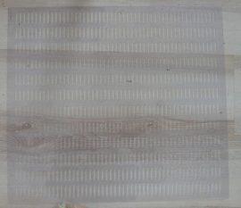 Vékony műanyag anyarács