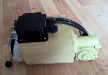 Fordulatszám szabályzós pergető motor